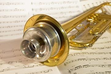 Trompete Dämpfer