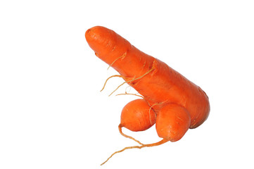 Carrot as a penis