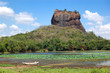 The Sigiriya (Lion's rock) is an ancient rock fortress and palac