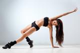 Fototapeta taniec - fitness - Zdrowie / Gimnastyka / Taniec