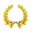 laurel wreath golden