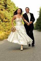 bridal, celebration, couple, expression, fun, wedding