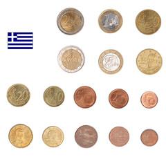 Euro coin - Greece