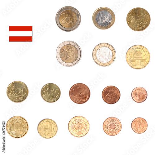 Euro coin - Austria