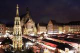 Fototapety Christkindlesmarkt in Nuremberg, Germany