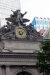 Historic Clock and Statue on Grand Central Station Terminal NYC