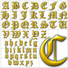 abc alphabet background canterbury design