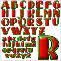 abc alphabet background standing room design