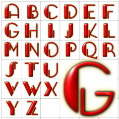 abc alphabet background gangue design