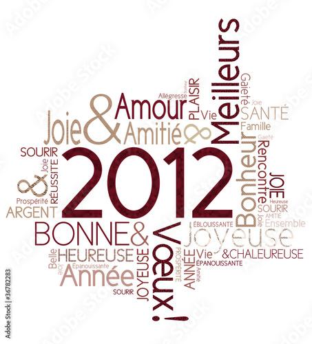 Vecteur   Carte De V  Ux 2012 Joyeuse