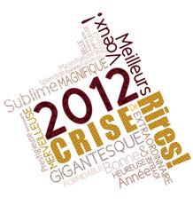 Carte de vœux 2012 crise de rires