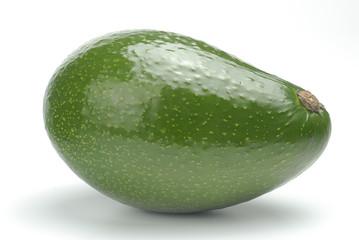 Un aguacate verde