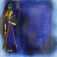 blue ancient egypt wallpaper