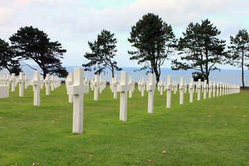 Omaha world war 2 cemetery