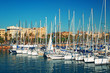 Sailboats at Port Vell
