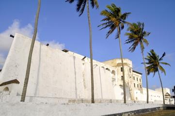 Sklavenburg in Elmina Ghana