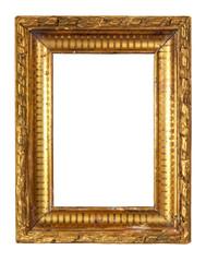 cadre baroque doré ancien