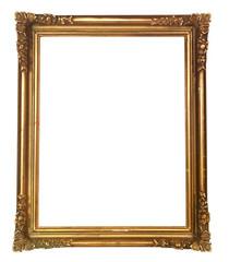 cadre baroque ancien doré