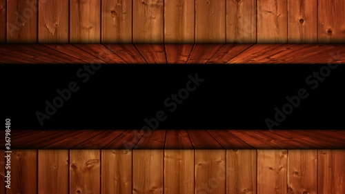 Wood Door Background / Transition - HD1080