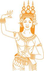Golden Apsara
