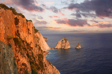 Greek Coast in Zakynthos