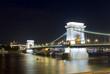 Budapest Chain Bridge night view