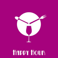 Logo Happy Hour # Vector