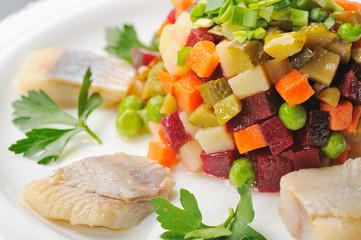 Russian vegetable salad