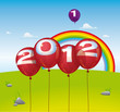 Balloon & Rainbow 2012