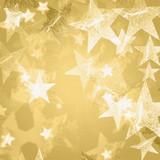 golden and white stars