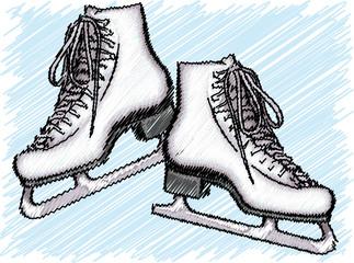 Ice Skate illustration