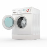 Washing machine. 3d