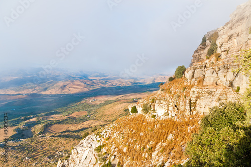 Sunrise in the Antequera torcal