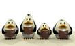 Penguin Christmas chorus