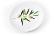 Piatto di olive