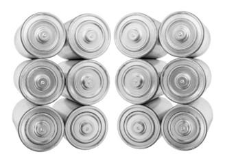 Stacks of Batteries
