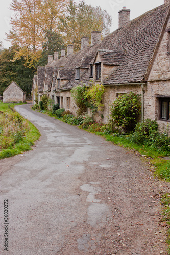 Arlington Row in Bibury int ehCotswolds