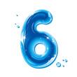 ABC series - Water Liquid Number Six
