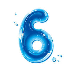 ABC series - Water Liquid Number Six