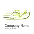 electric bike logo 2 (white bkgnd)