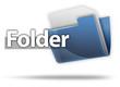 "3D Style Folder Icon ""Folder"""