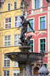 Neptune Fountain in Gdansk