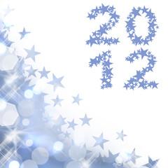 2012, coin étoiles bleu