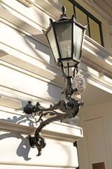 Lampe am Hauseingang