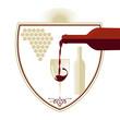 Wein - Schild