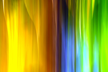 Abstract colours and light