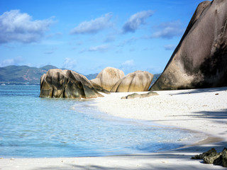 Beach on the Seychelles