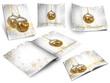 Colección de libros con ilustraciones de Navidad