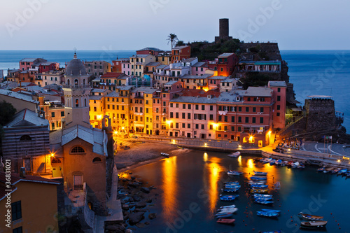 Vernazza in the Morning Light