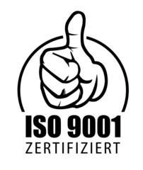 iso 9001 zertifiziert zertifikat zertifiziertes unternehmen